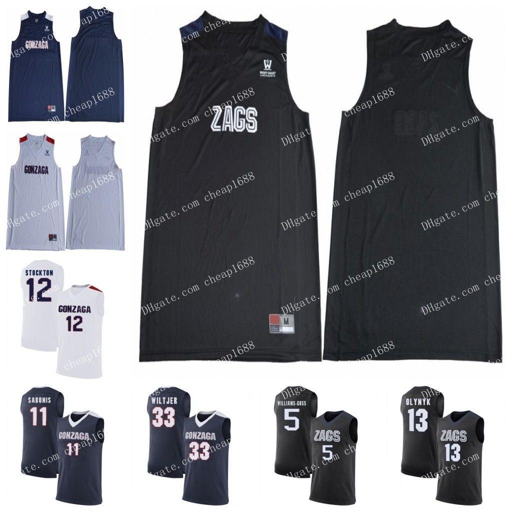2021 NCAA Gonzaga Bulldogs 11 Joel Ayayi 2 Jack Beach 15 Brandon ...