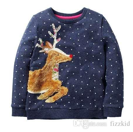 Девушки толстовки с животных аппликация Осень Зима девочка одежда дети балахон для девочек толстовка Детская одежда 2-7 лет