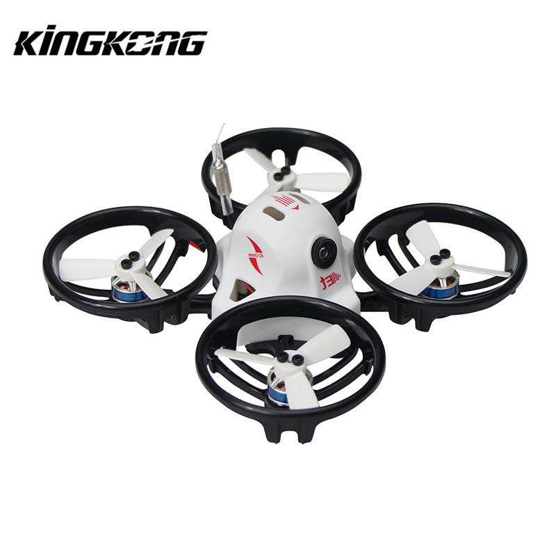 Kingkong ET Series ET125 125mm Micro FPV Racing Drone 800TVL Camera 16CH 25mW 100mW VTX RC Racer Multirotor Quadcopter BNF