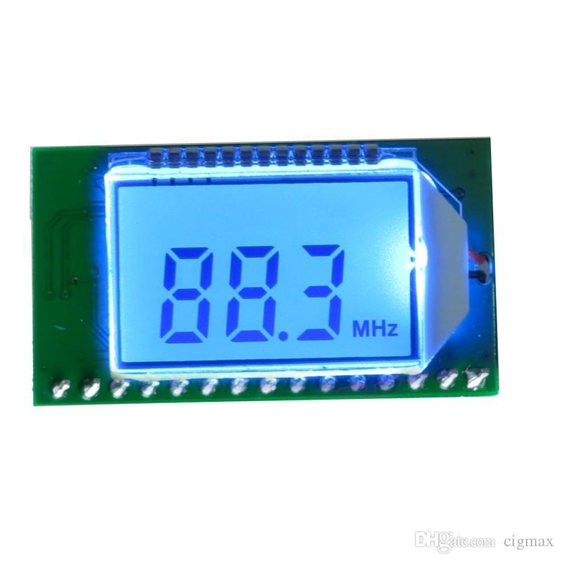 OOTDTY Yeni 2017 varış PLL LCD Dijital 87-108 MHZ FM Radyo Alıcısı Modülü Kablosuz Mikrofon Stereo Sıcak Satış
