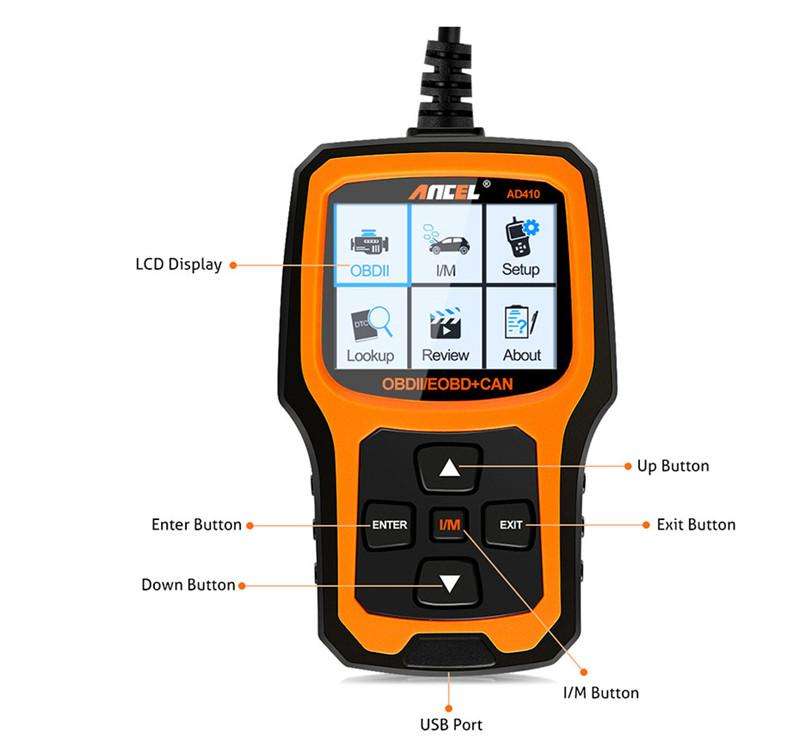 OBD2 OBD Automotive Scanner Ancel AD410 obd ii_10