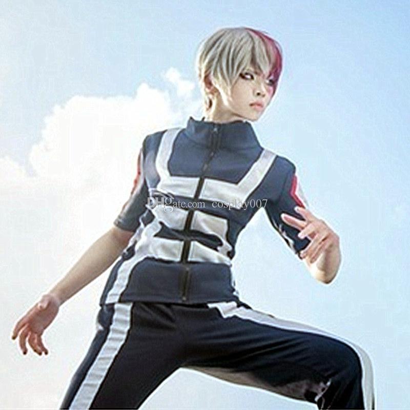 Todoroki Shoto Izuku Midoriya trajes de cosplay anime japonés My Hero Academia ropa Ropa deportiva de la universidad Disfraces de Halloween Punto de suministro