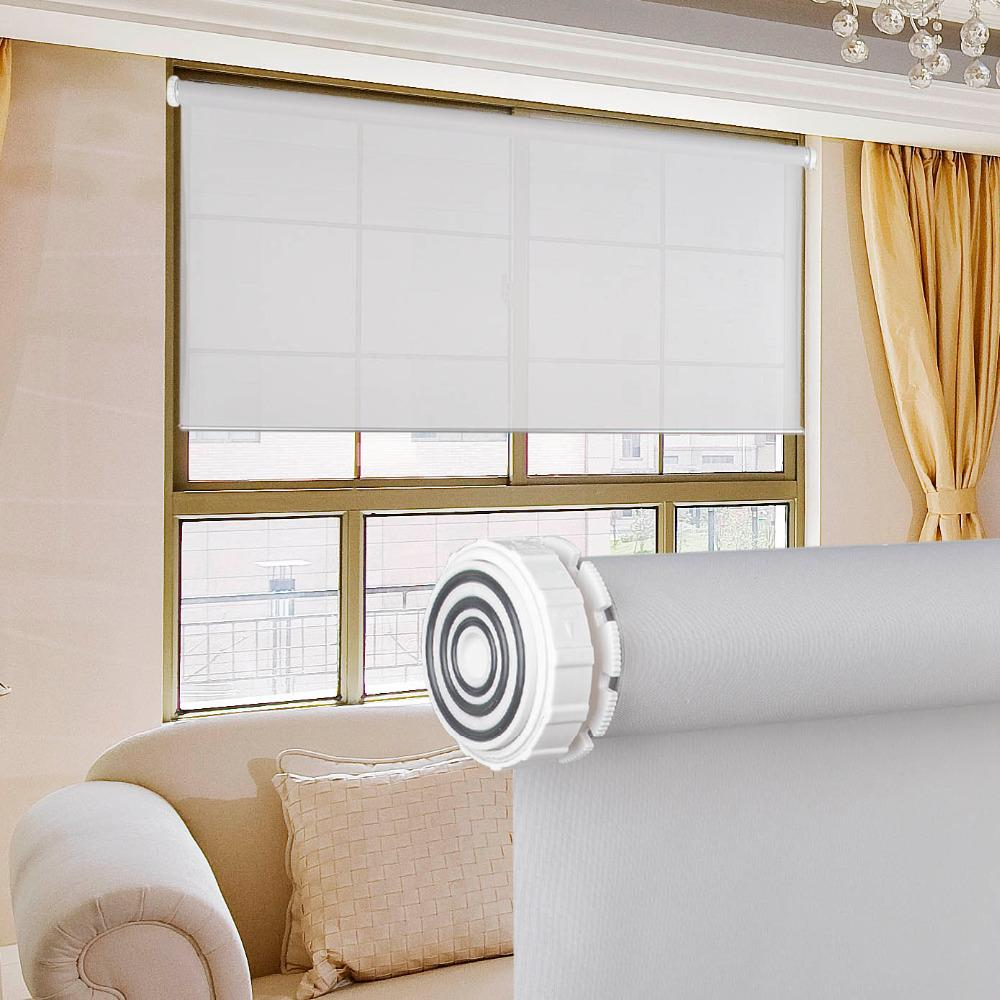 2019 New Arrival No Drill Design Tension Roller Blinds Easy Installation  Daylight Fabric Window Blinds For Living Room Custom Size From Gor2don, ...