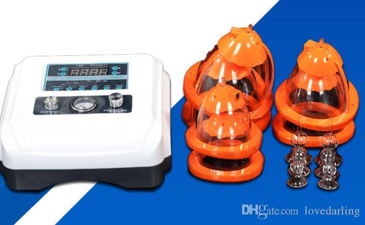 2018 más nuevo !!! Amplificador de busto físico Amplificador de mamas Ampliación de la bomba Aspiración al vacío Copa dual Productos de belleza