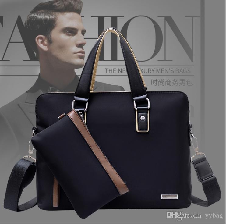 2018 Модные мужские сумки для ноутбуков необычные бизнес ноутбук роскошные Оксфорд ткань бизнес сумки и планшет портфель бизнес ноутбук сумка
