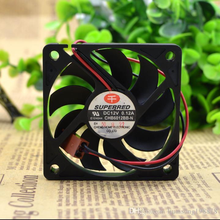 Qianhong CHB6012BB 6010-N 12V 0.12A CPU6CM 냉각 팬, 60 * 60 * 10MM