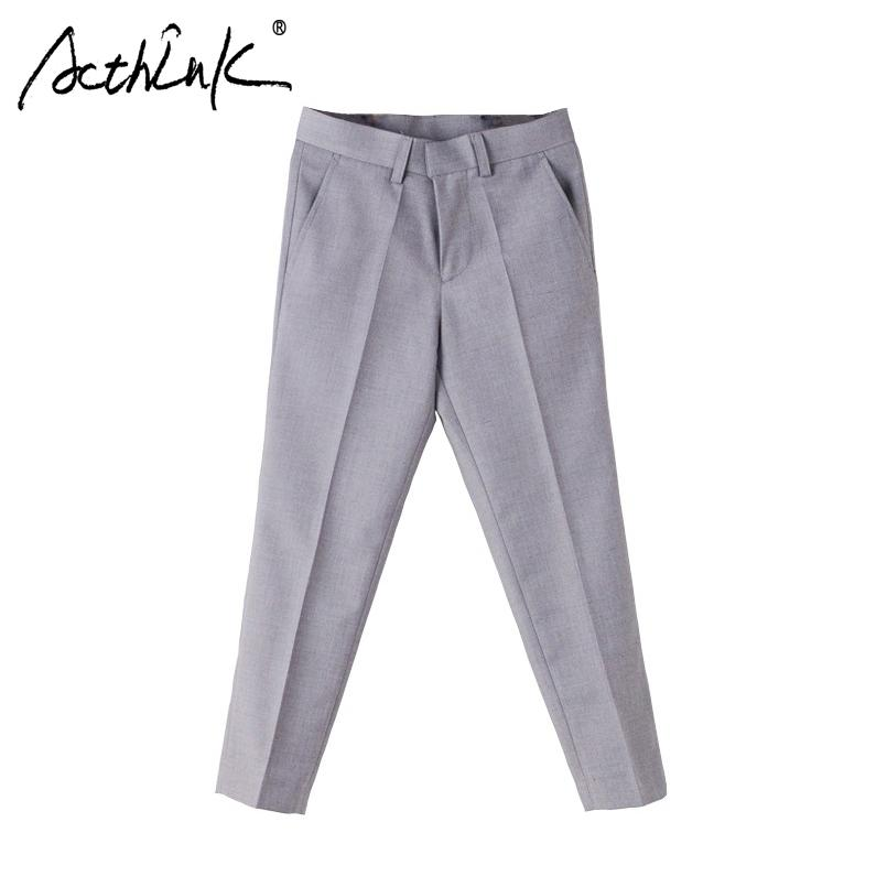 select for authentic big selection of 2019 newest ActhInK New Children Formal Pants For Boys Brand British Style Kids Suits  Pants School Boys Uniform Trousers Wedding Boys Cargo Pants Slim Boys ...