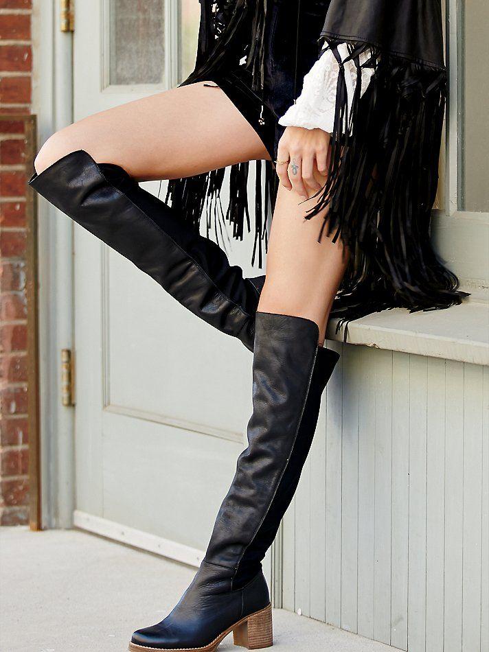 أسلوب فاسق كعب سميك النساء المدرج تصميم الصحراء الأحذية الأحذية الركبة عالية خليط السيدات الجلود الخريف القتالية الأحذية النسائية مارتن الأحذية