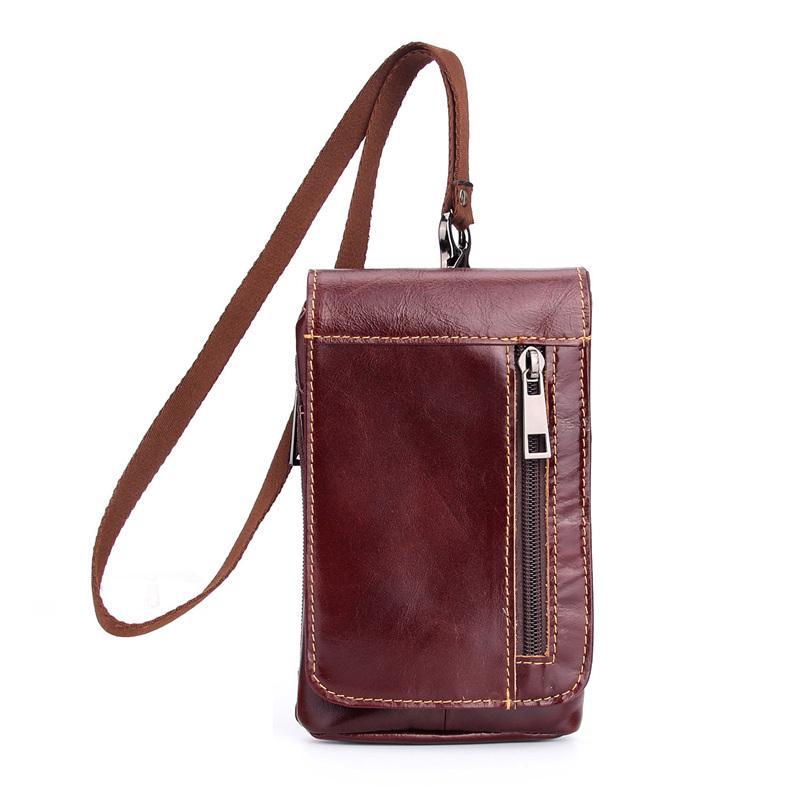 للحصول على اي فون x حقيبة جلد اصلي حزام كليب الحقيبة الخصر حقيبة الهاتف المحمول الحافظة غطاء ل XS MAX XR 7 8 PLUS