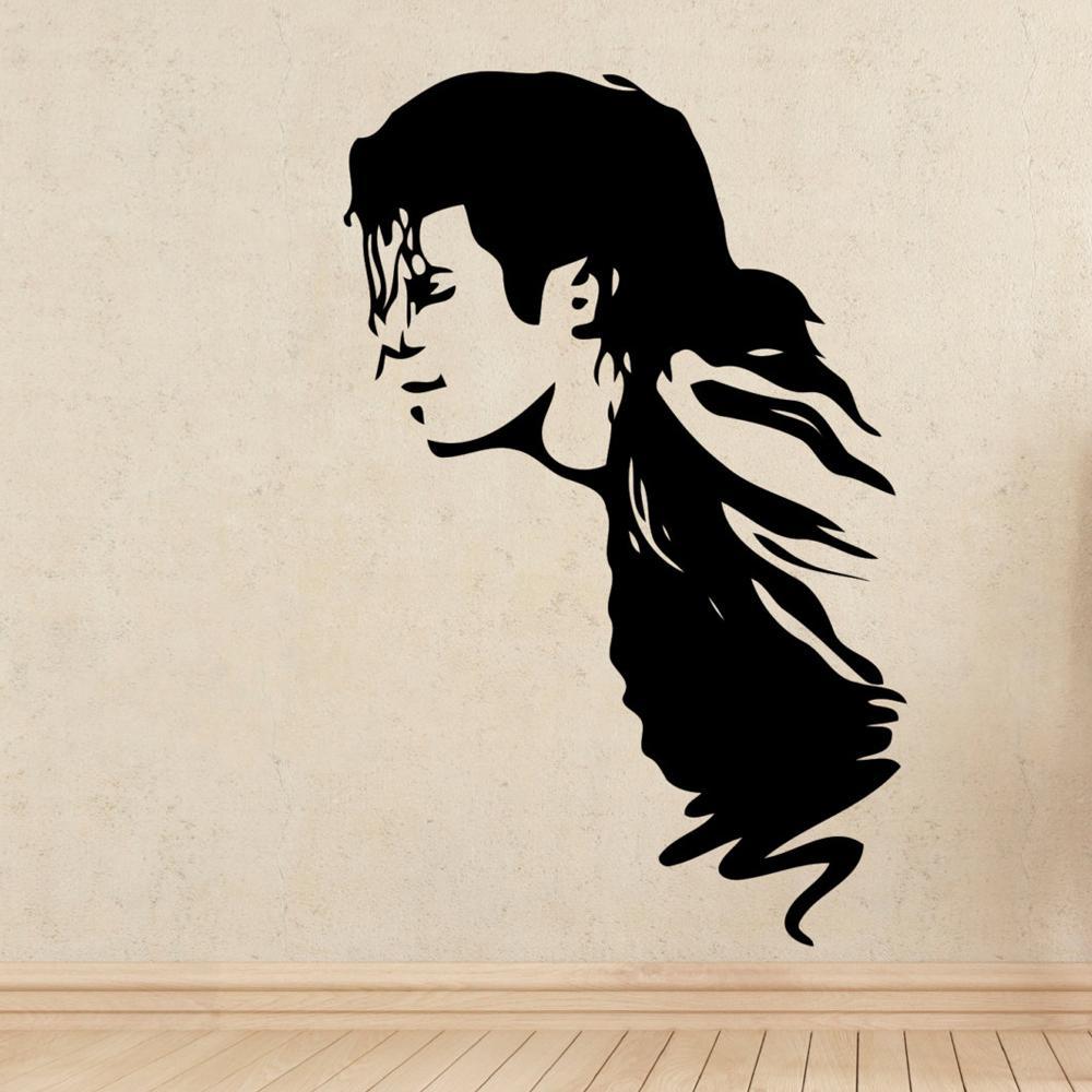 Stickers muraux Michael Jackson Super Star Music Vinyle Sticker Sticker pour Salon Décoration