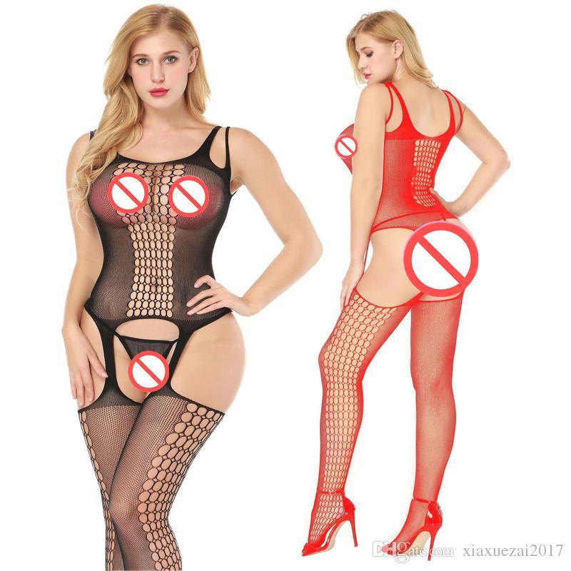 Kobiety Casual Elastyczne Slim Kombinezony Kombinezony Kombinezon Kombinacja Femme Sexy Bodystocking Catsuit Body One Piece Onesies