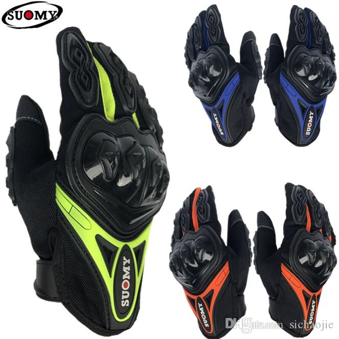 2018 Top suomy su-10 summer Breathable motorcycle gloves/ racing gloves/riding gloves/ Outdoor sports Gloves 5 colors