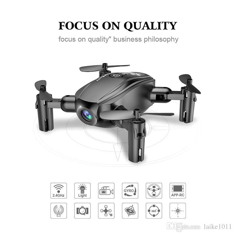 FPV WIFI RC بدون طيار كوادكوبتر مع كاميرا الأصلي D10WHD ترقية 0.3mp / 2.0mp 2.4 جيجا هرتز 6 محور الوقت الحقيقي اللعب شحن مجاني -5