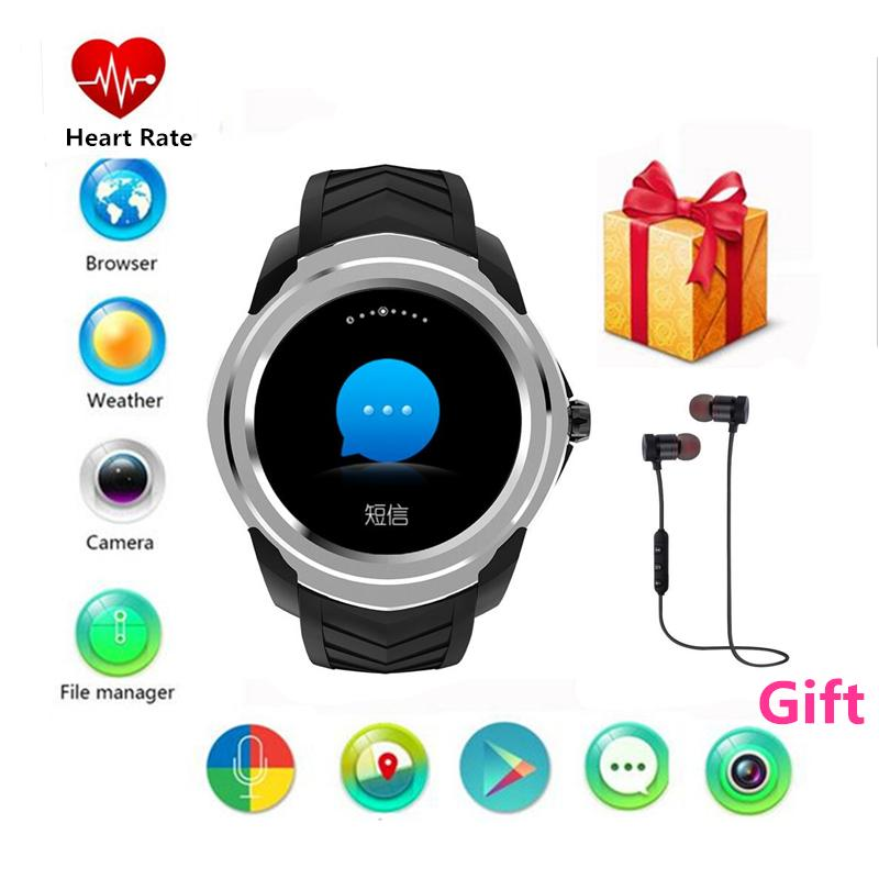 for SAMSUNG gear s3 apple huawei xiaomi smart watches with heart rate monitor 2 mp camera wifi gps rom/8gb bluetooth smartwatch