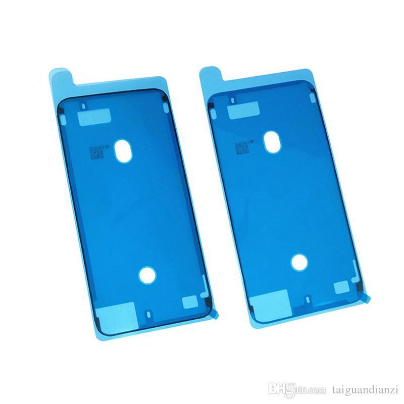 Pegatina adhesiva impermeable para iPhone 6S 6Splus 7 7G Plus 8 8 Plus X 3M Carcasa frontal Pantalla LCD Marco de corte de cinta de pegamento precortado