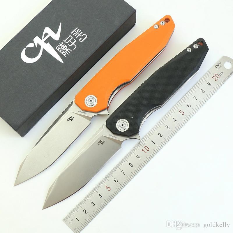 جديد CH3004 ماركة الطي سكين d2 الحرير شفرة g10 مقبض التكتيكي بقاء السكاكين في الرياضة والعتاد الصيد التخييم سكين العملي edc