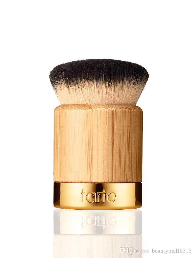 30pcs / lot - 핫 도매업 100 % 신작 airbuki 대나무 파우더 파운데이션 브러쉬 액체 파운데이션 크림 메이크업 브러쉬 합성 머리 무료 배송