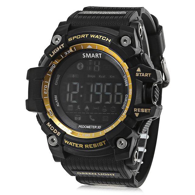 스마트 시계 피트니스 추적기 IP67 방수 스마트 팔찌 보수계 Profissional 스톱워치 BT 스마트 손목 시계를 들어 안드로이드 IOS 시계