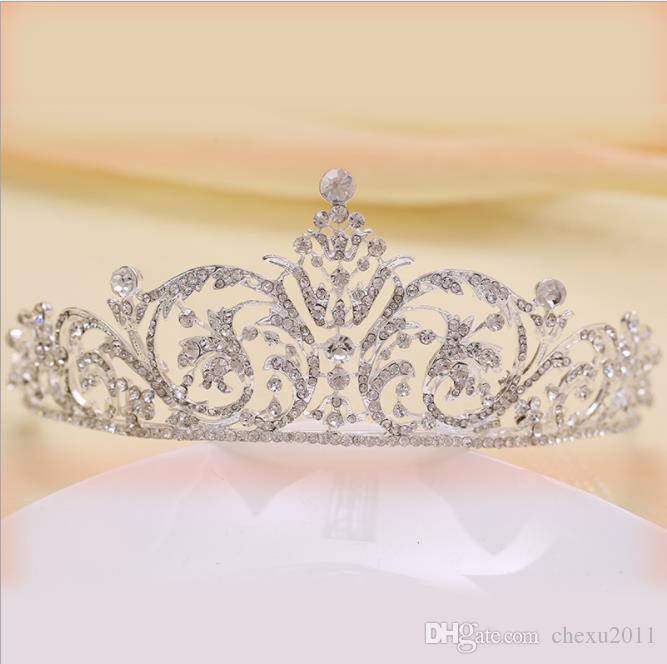 2018 corona nupcial, sombrero de la brida de la boda coreana, corona nupcial, corona nupcial