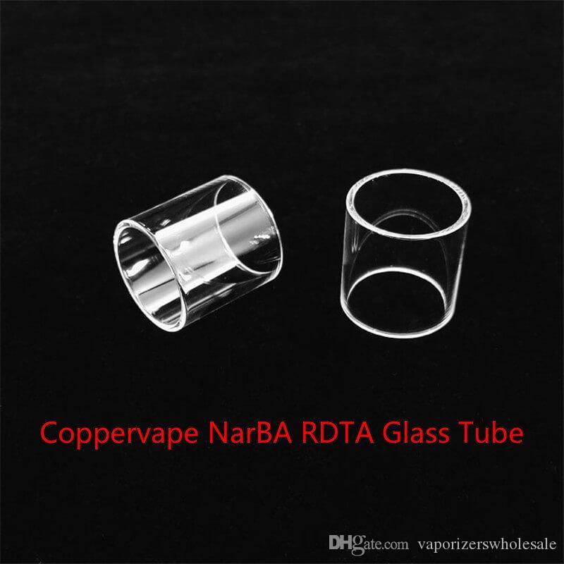 Venta al por mayor de Coppervape NarBA RDTA Reemplazo del tubo de vidrio del tanque con el envío libre de DHL comprar barato Coppervape NarBA RDTA tubo de vidrio del tanque