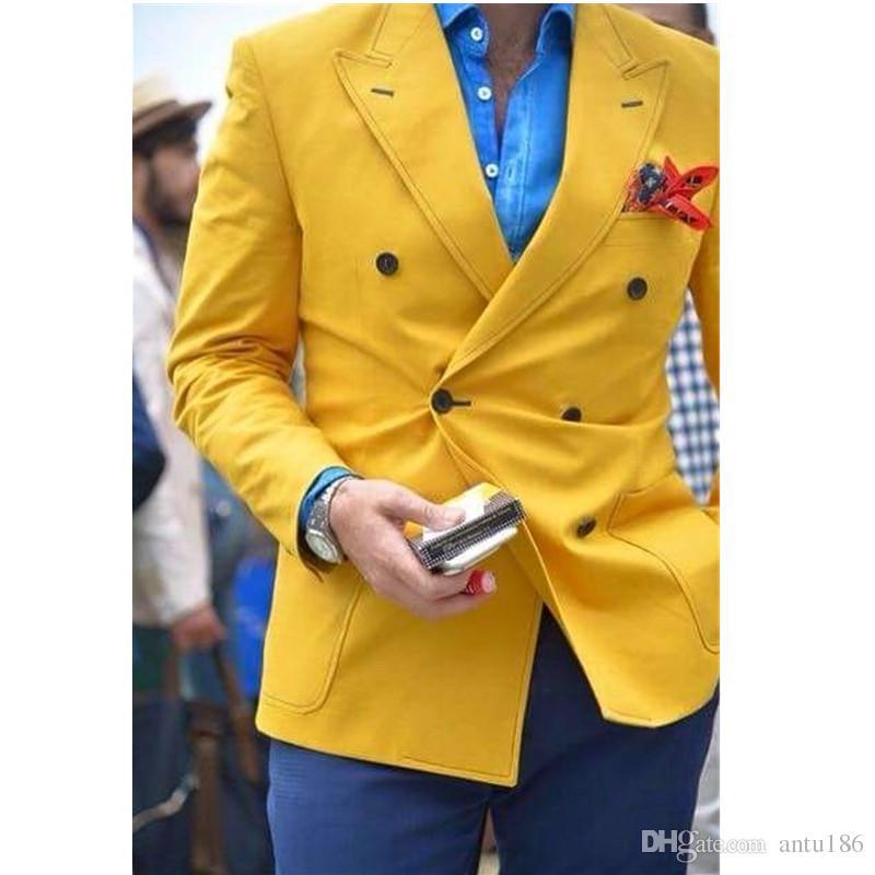 Erkek takım elbise erkek kruvaze takım elbise iki parçalı takım (ceket + pantolon) erkek iş elbisesi top parti elbise destek özel