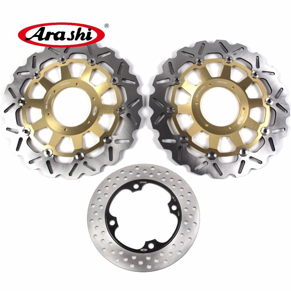 ARASHI For HONDA CBR929RR 2000 2001 Front Rear Brake Disc Rotors Disk CBR 929 RR CBR929 929RR 00 01