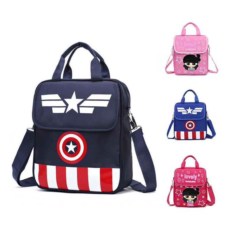 Captain America Child School Bag Cartoon Backpacks /Kids Kindergarten Backpack /Kid School Bags /Satchel For Boys And Girls