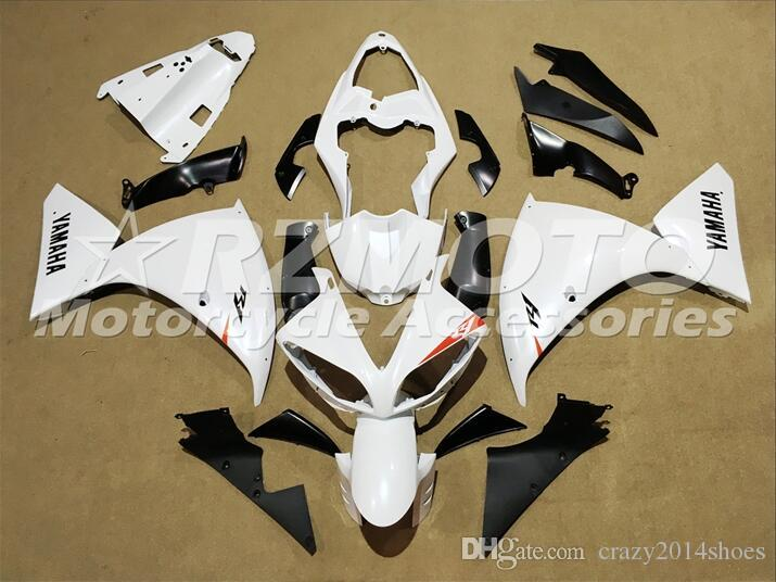 3 Free Gifts New motorcycle Fairings Kits For YAMAHA YZF-R1 2009-2011-2012 R1 09-11-12 YZF1000 bodywork hot sales loves White B56
