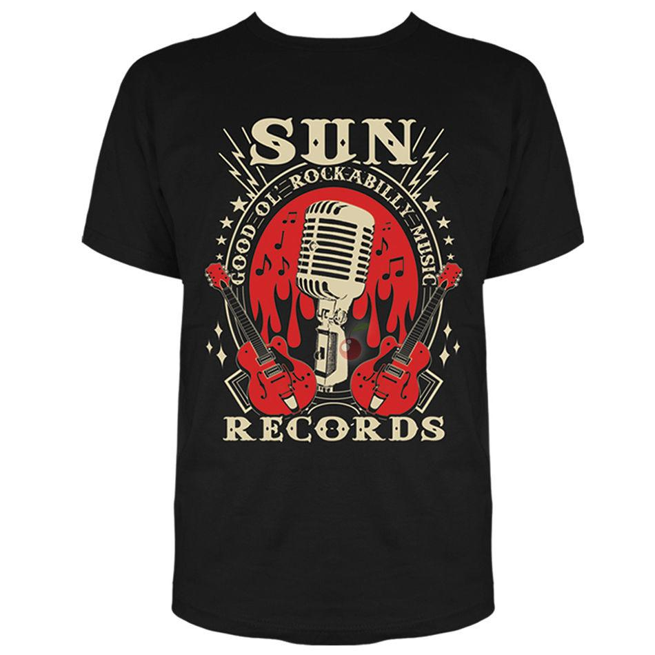 Rockabilly Mens Long Sleeve T-Shirt 100/% Rockabilly Country