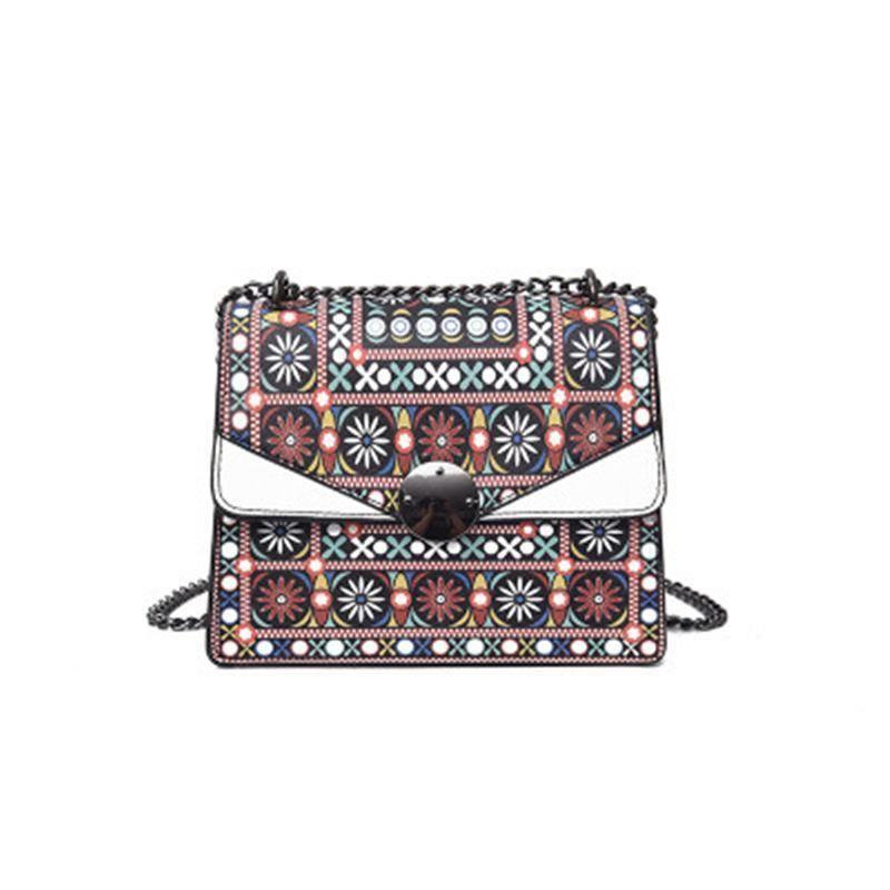 Corrente National Corporal Mulheres Sacos Cross Moda Impressão Saco Único Atacado Primeiro Soluidade Do Ombro Bag Oblique Maré Backpack SU FPTC