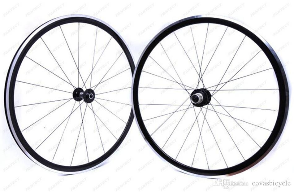 700C KinLin XR270 Aleación de aluminio bicicleta juego de ruedas fuertes ruedas de bicicleta de carretera 1550g para un juego de ruedas