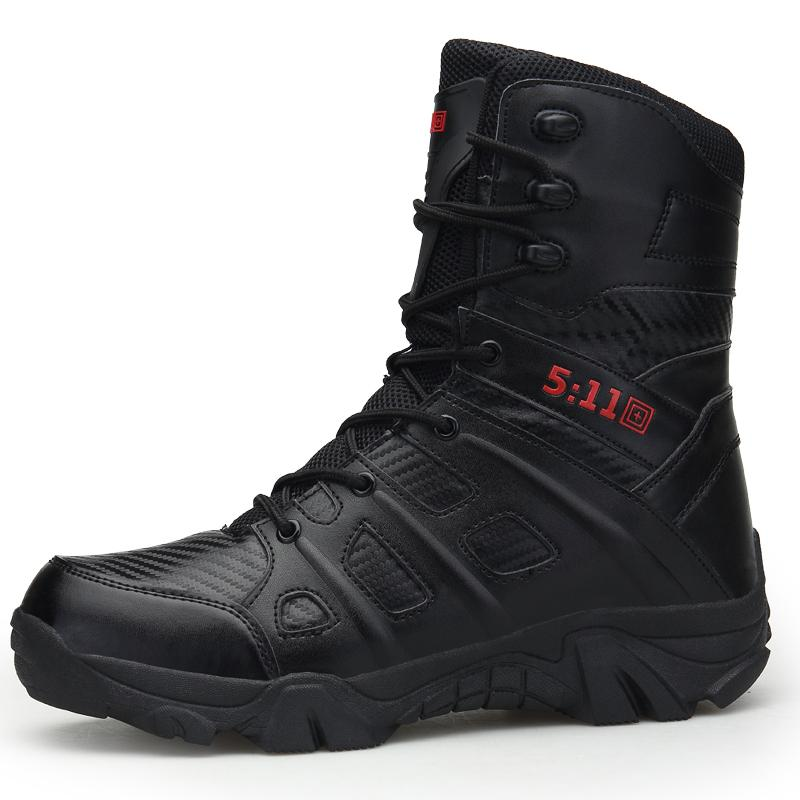 """7"""" Delta Tactical Boots,Military Desert Combat Boots Shoes Summer Breathable Boots,SAND AND BLACK,EUR SIZE 41-46 Free Shipping"""