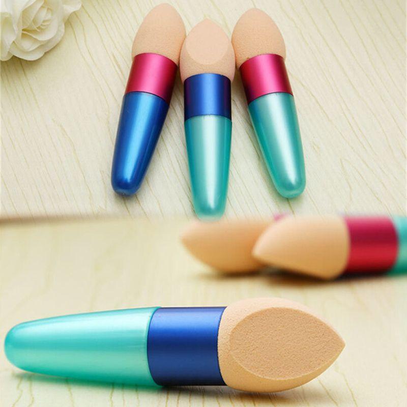 Nouveau maquillage Fondation Éponge Blender Blending Flawless poudre lisse cosmétique lisse brosse Puff outil de beauté Applicateurs coton DHL