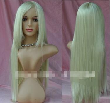 """Livraison gratuite +++ New WOMEN """"S blonde claire 613 longue perruque droite cheveux perruques cosplay party"""