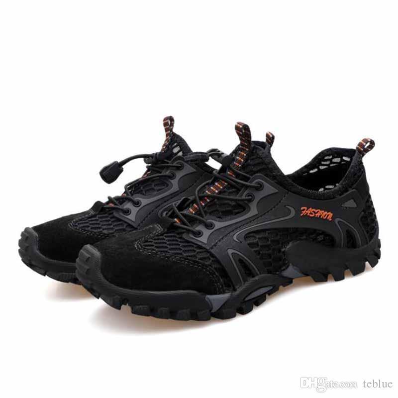 Compre Hombres Zapatillas De Deporte Al Aire Libre Respirables Zapatos De Senderismo Para Hombres Deportes De Hombre Zapatos Para Escalar Al Aire