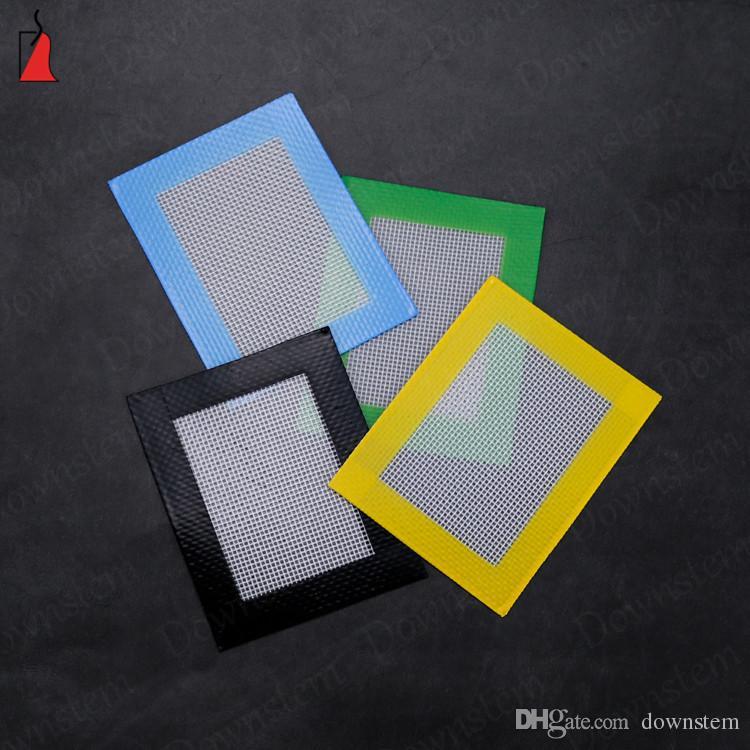 8.5 * 11cm de calor antiadherente estera resistente del silicio de la categoría alimenticia estera antiadherente de silicona de fibra de vidrio para hornear Mat para utensilios de cocina