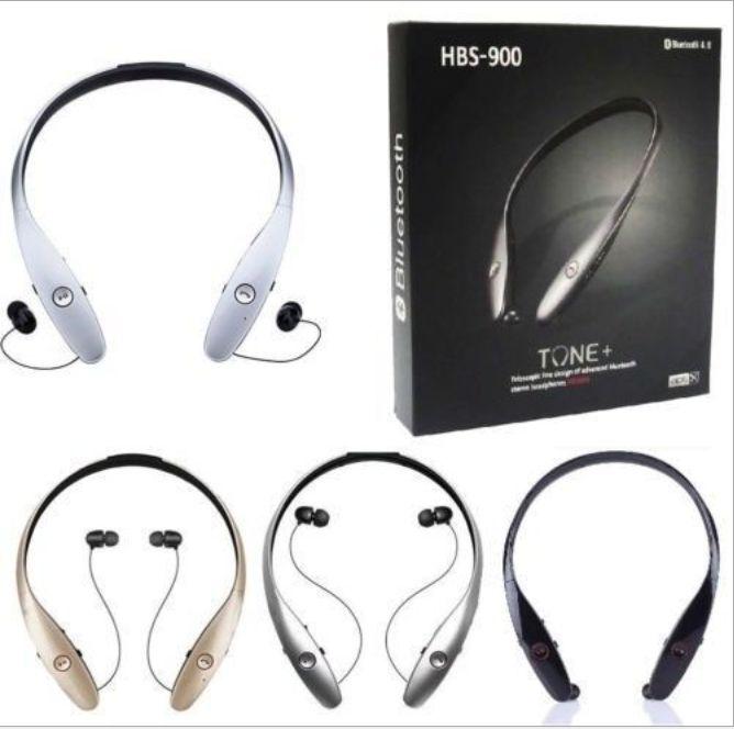 HBS900 Nacken-einziehbaren bilateralen Stereo Sport Bluetooth Headset