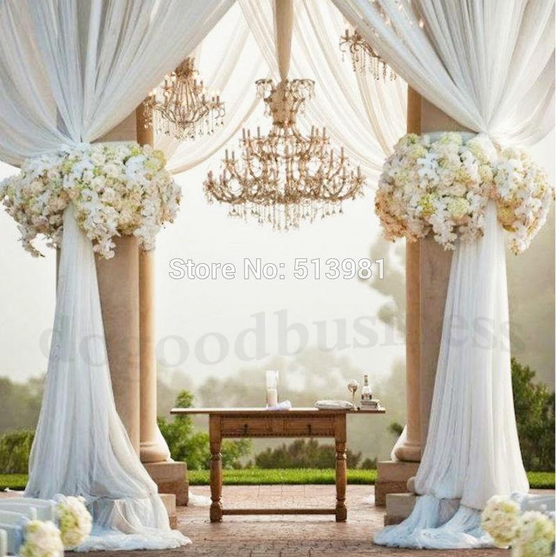 Organza Tissu ROULEAUX fête de mariage Décoration Chaise Bows Table Runner Sash Vendeur Britannique