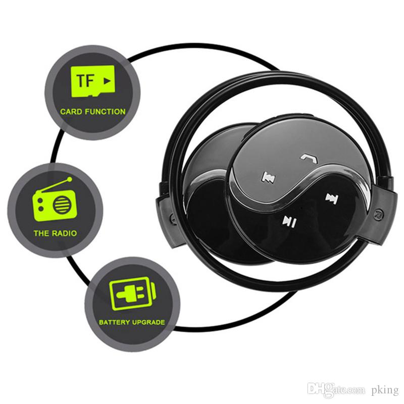 Wireless Bluetooth Headphones Mini 603 Fm Radio Headphone Sport Music Stereo Earphone Micro Sd Card Slot Headset Cell Phone Earphone Cell Phone Headphone From Pking 9 11 Dhgate Com