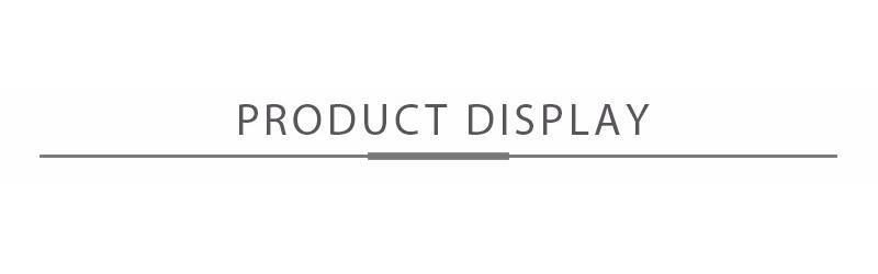 prodcut display