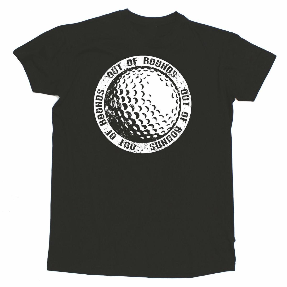 Golf Ball Chest T-SHIRT Golfer Golfing Fashion Funny Present birthday gift High Quality For Man Better Black Style top tee