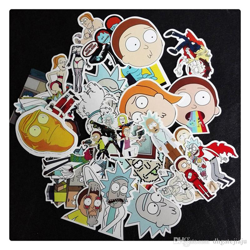 Cartoon Figure Car Stickers DIY Sticker Decal Graffiti for Motorcycle Bicycle Luggage Laptop Random Style Hot Sale