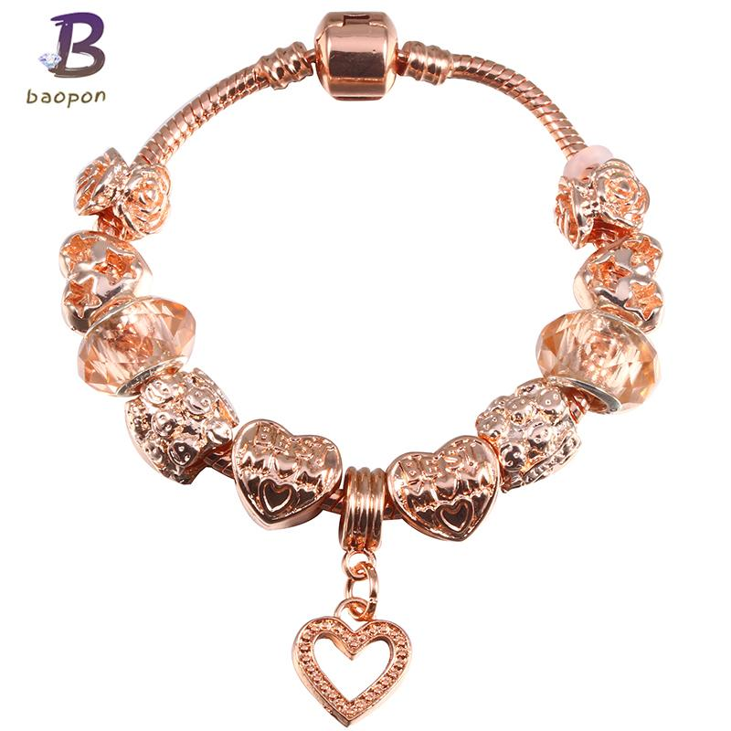 pandora jewelry rose gold charms