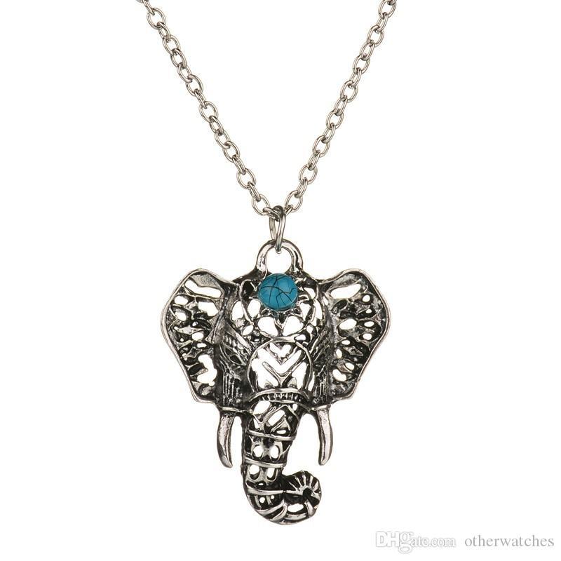 ретро народный слон ожерелье ожерелье