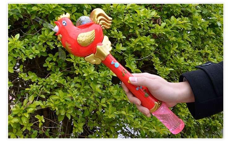 Blow Gun Toy Children Electic Bubble Soap Bubble Cock Water Blowing Maker Machine Kids Boy Girl Toy Beach Outdoor