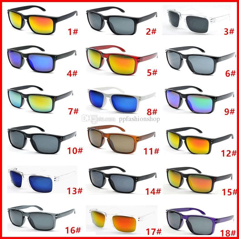 Vente chaude 10 pcs Designer Lunettes De Soleil Pour Hommes Été Ombre UV400 Protection Sport Lunettes de Soleil Hommes Lunettes de Soleil 18 Couleurs