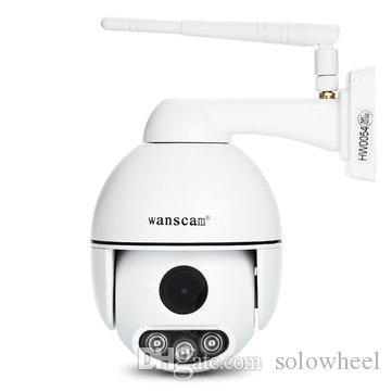 WANSCAM HW0054 Outdoor PTZ 5X Optical Zoom 1080P IP WiFi Camera Security Dome ONVIF P2P Night Vision Waterproof IP66