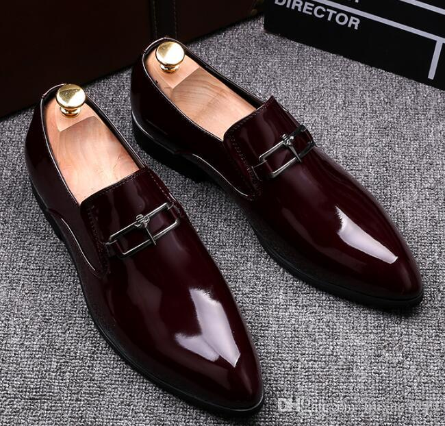 Oxfords Formal Shoes Mens Leather