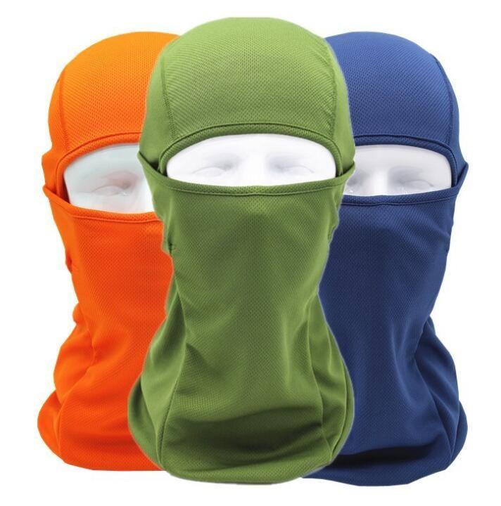 Sommer Breathable CS Vollgesichtsmaske Motorrad Helm Mund Abdeckung Outdoor Biking Ski Eye Open Schutz Kopfbedeckungen