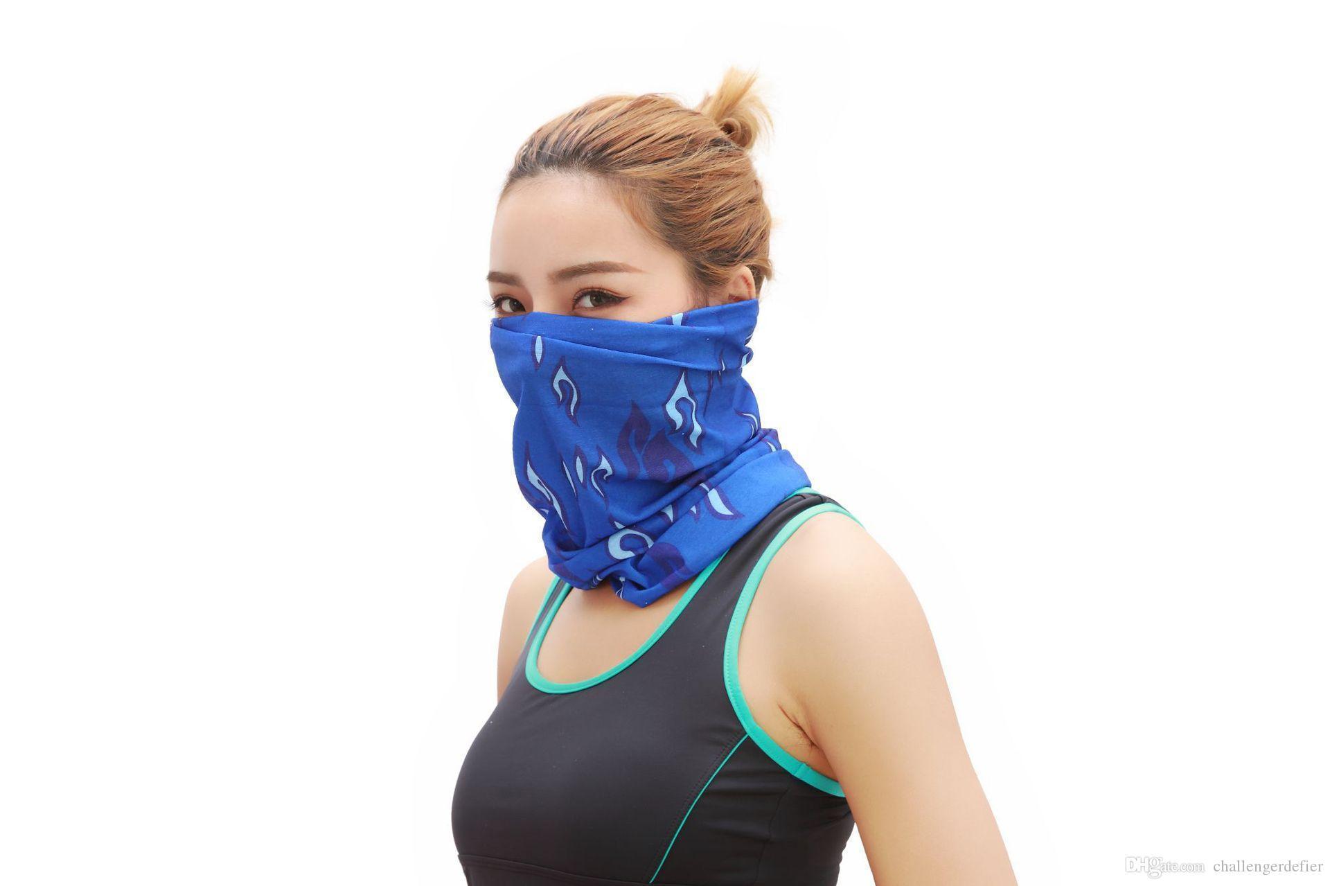 Fabricantes vendem 100 mágicas lenços sem costura exterior montanhismo cross-country e ciclismo máscaras